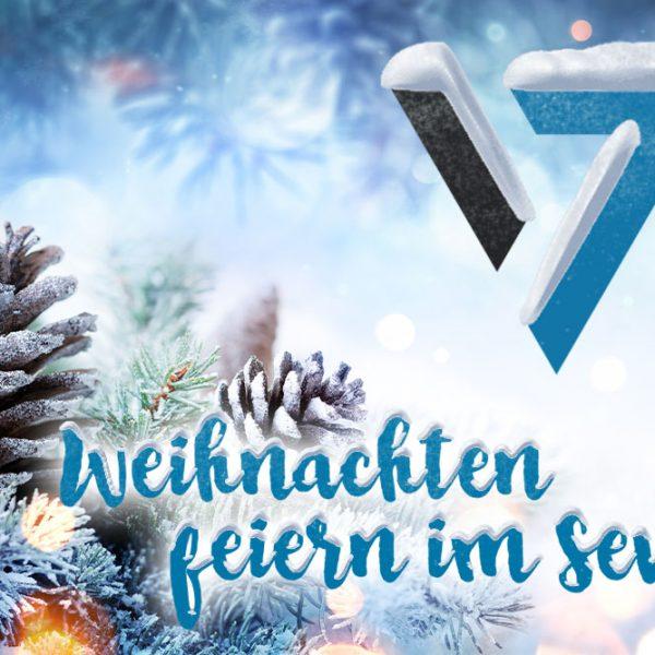 Weihnachten im Seven