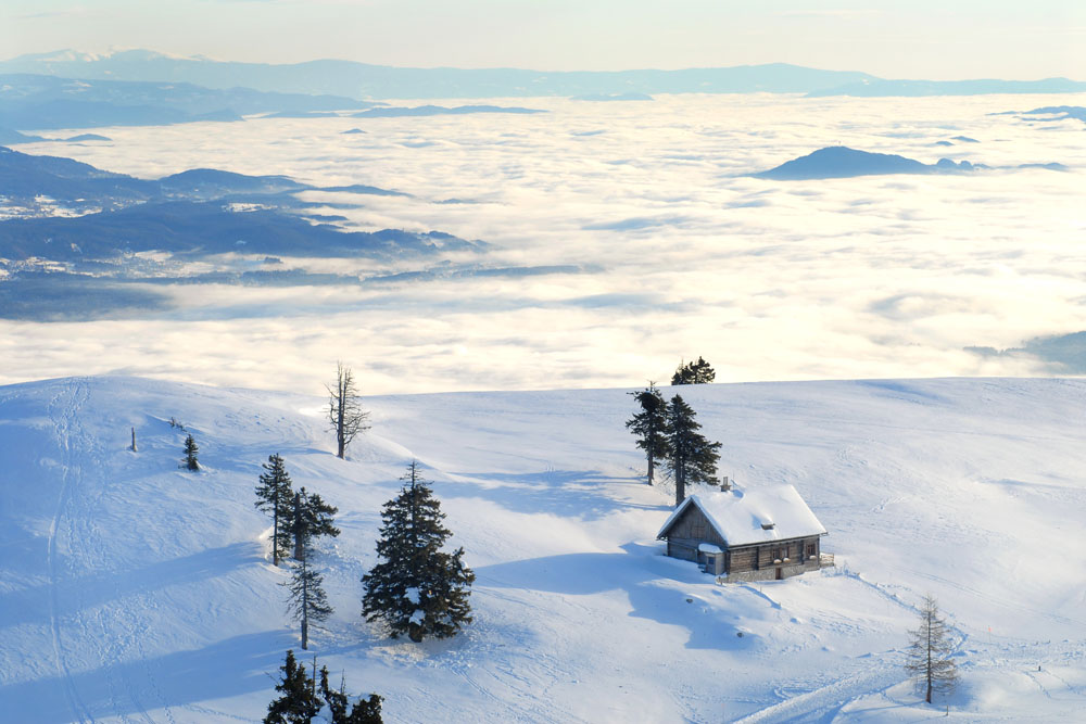 Hotel Seven - Winter in Villach - Dobratsch