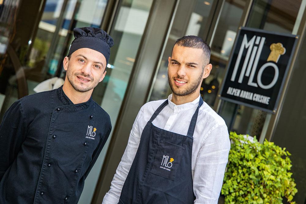 Restaurant Milo - Dean Aleksic und Danjel Bencic